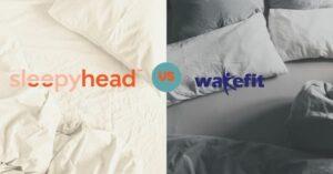 wakefit vs sleepyhead