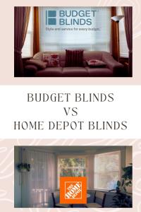 budget blinds vs home depot